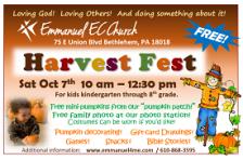 Harvest Fest Flyer
