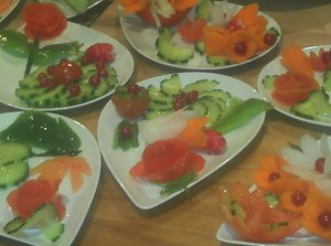 atelier décors & design de fruits et légumes