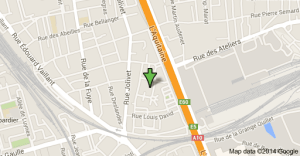 carte googlemap du 5 rue jean moulin