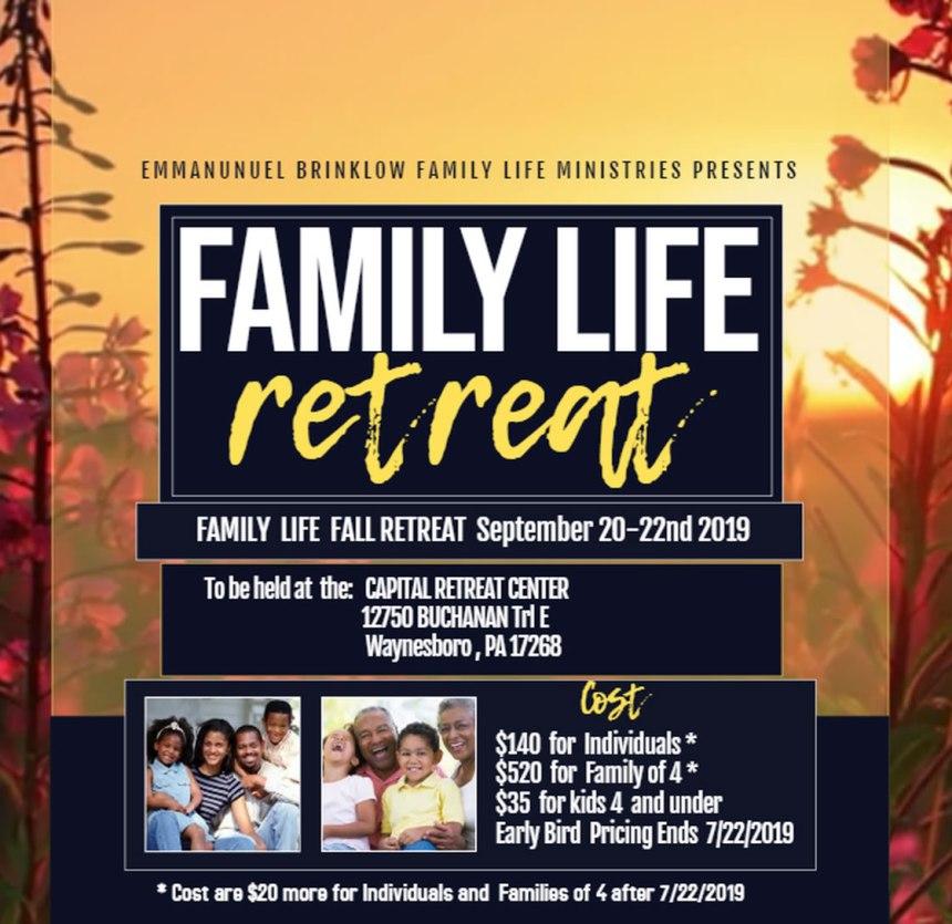 FAMILY LIFE RETREAT