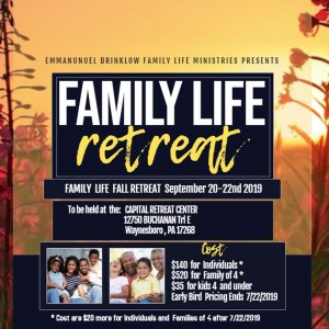 FAMILY LIFE RETREAT