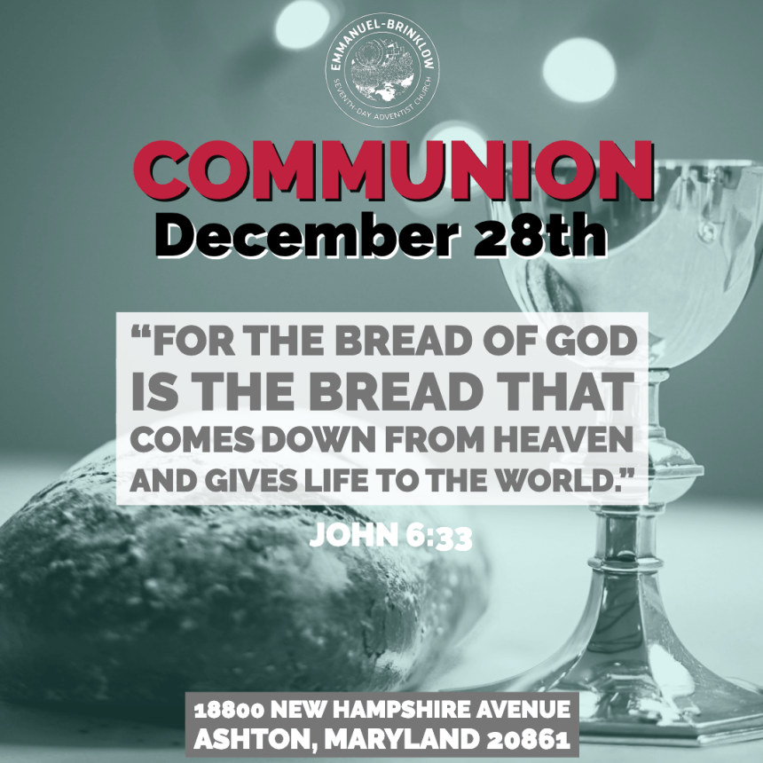 FINAL COMMUNION OF 2019