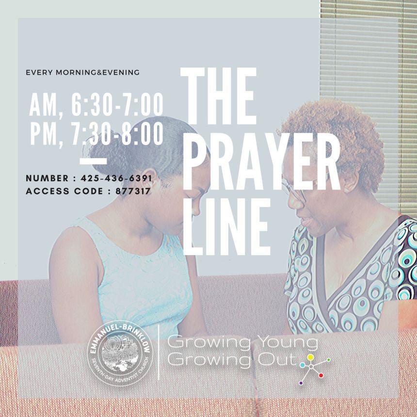 PRAYER EVERY MORNING & EVENING!