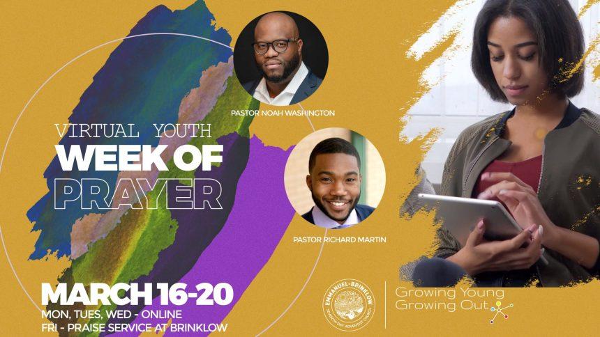 VIRTUAL YOUTH WEEK OF PRAYER