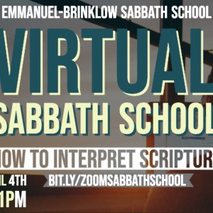 ADULT VIRTUAL SABBATH SCHOOL April 4