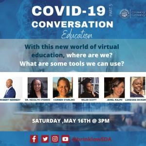 COVID CONVERSATION – PART 5: EDUCATION