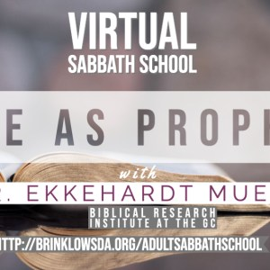 ADULT SABBATH SCHOOL June 13