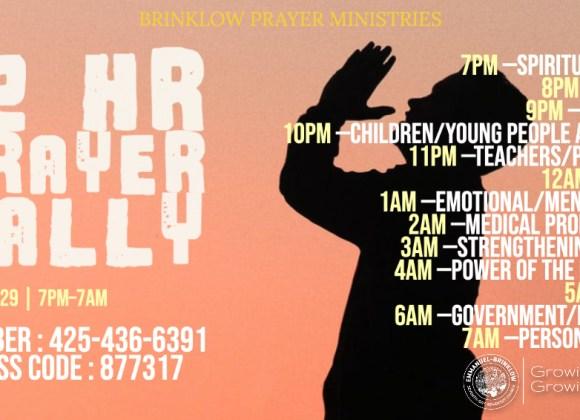 12 HR PRAYER RALLY