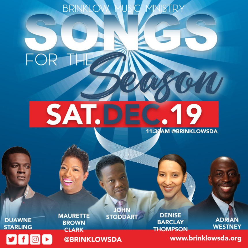 SONGS FOR THE SEASON, DECEMBER 19TH