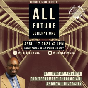 ADULT SABBATH SCHOOL April 17th
