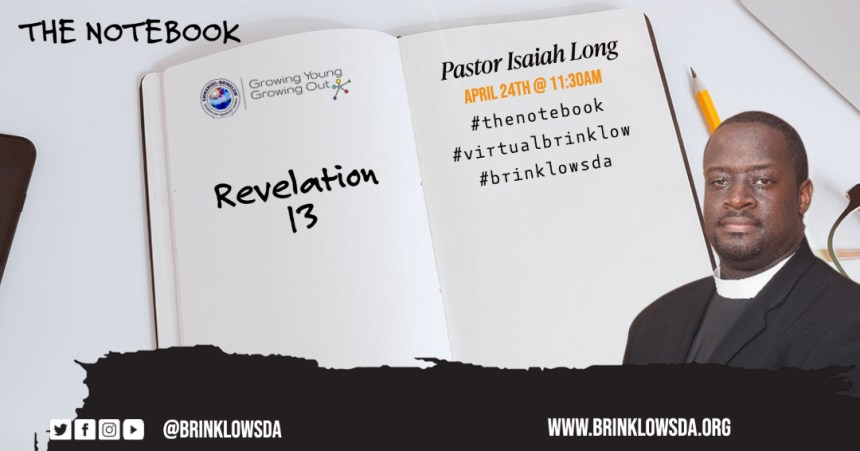 THE NOTEBOOK SERIES : REVELATION 13