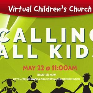 CHILDRENS CHURCH May 22