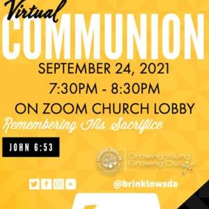 VIRTUAL COMMUNION