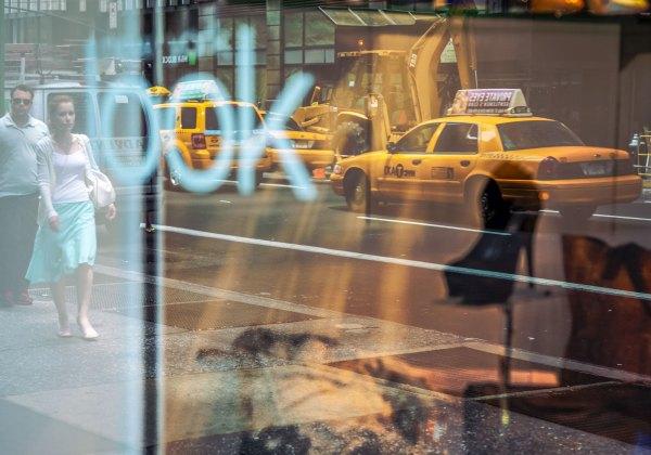 Tirage photo New-York Taxi Jaune