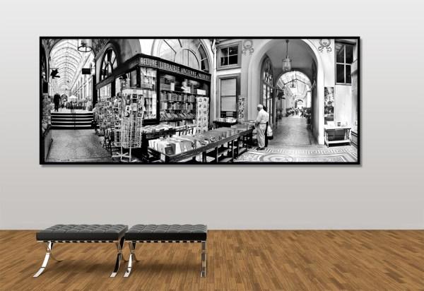 photo panoramique galerie Vivienne Paris
