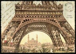 Cartes Postales Paris vintage - Tour Eiffel