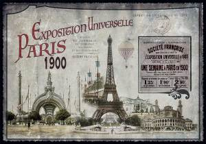 Cartes Postales Paris vintage - Exposition Universelle 1900