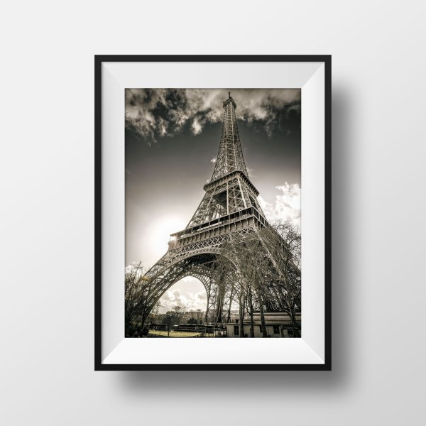 Photo Paris La Tour Eiffel Champs de MarsPhoto Paris La Tour Eiffel Champs de Mars