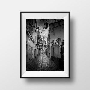 Tirage Photo de Paris Montmartre Noir et Blanc
