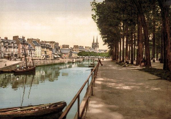 Photo Ancienne Bretagne Quimper