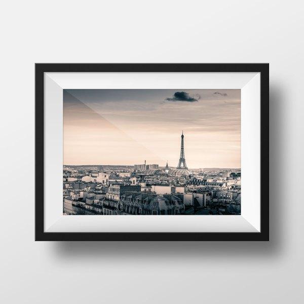 Photo Paris Tour Eiffel et les Toits