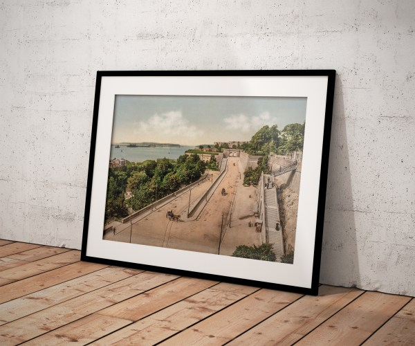 Photo Ancienne Bretagne Brest