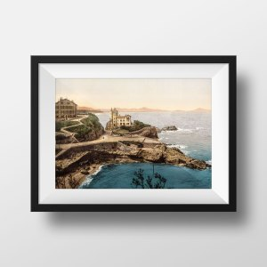 Photo Ancienne Biarritz Villa Belza