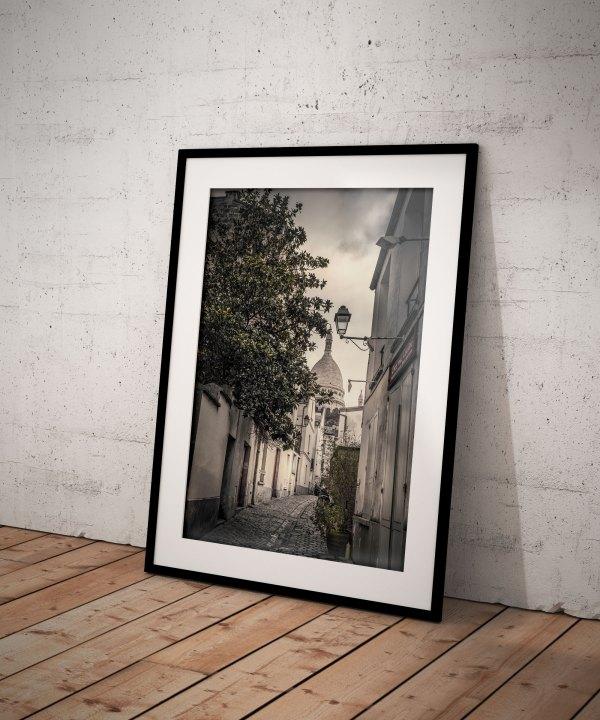 Paris Montmartre Sacré Coeur Rue Saint Rustique