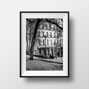 Photo Paris Montmartre Place Emile Goudeau