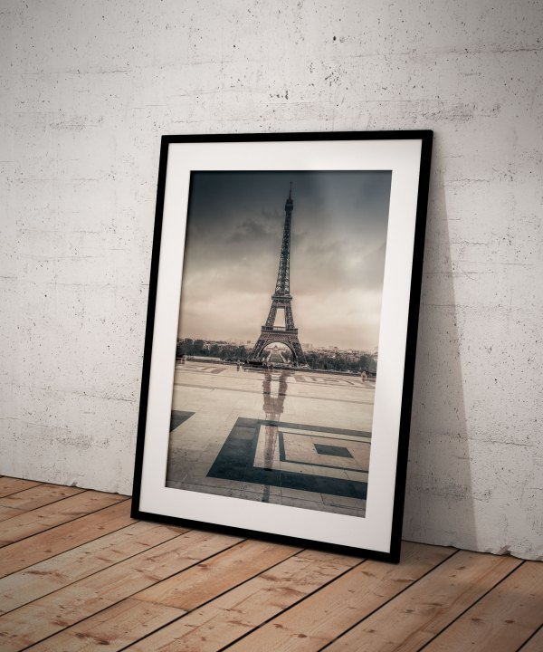 Tirage Photo Paris Tour Eiffel Trocadéro