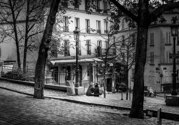 Vieux Paris Montmartre Place Emile Goudeau