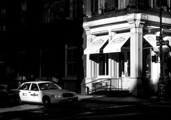 Tirage Photo Noir et Blanc New-York Soho