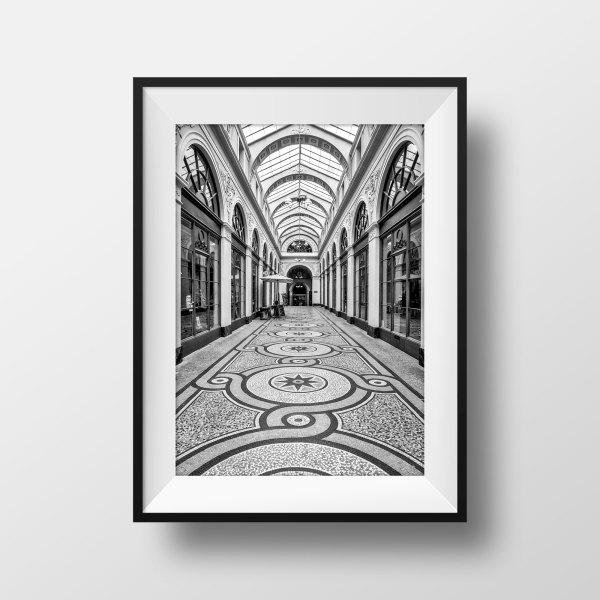 Tirage Photo de Paris Galerie Vivienne