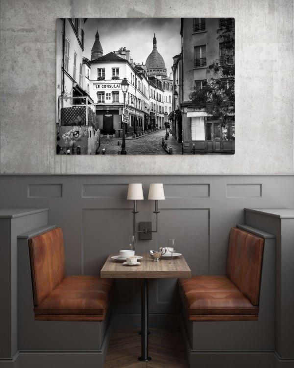 Paris Montmartre Sacré Coeur Rue Norvins