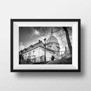 Photo de Paris Montmartre Sacré Coeur