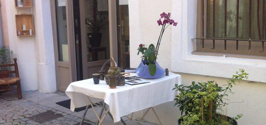 Céramiques au vert dans la Drôme provençale