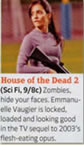 TV Guide House of Dead thumb