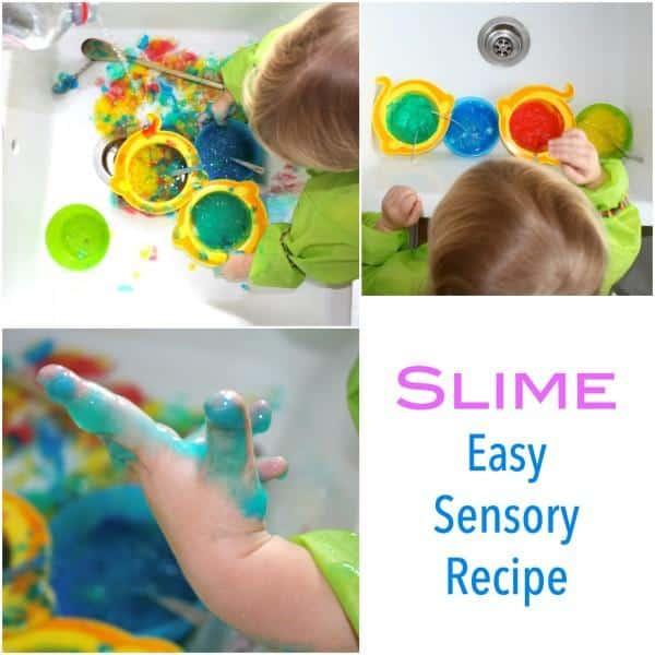 Easy slime idea for children