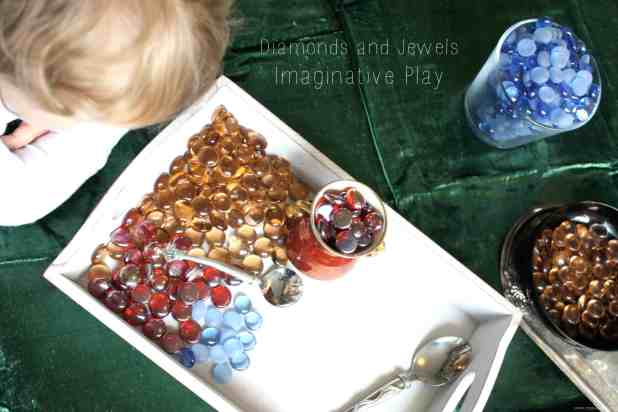 Jewels and Diamond Imaginative Play