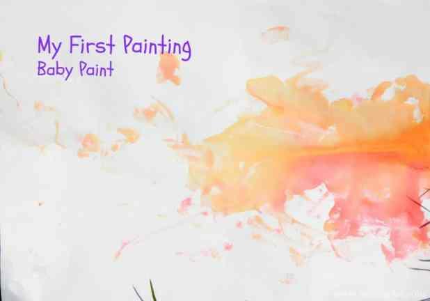 DIY Baby Paint