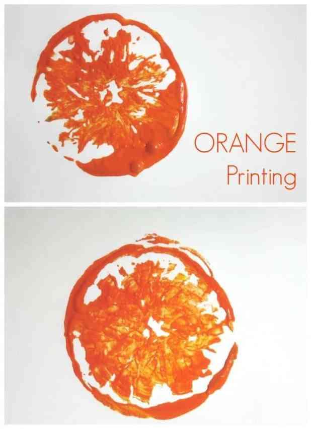 Printing with Oranges
