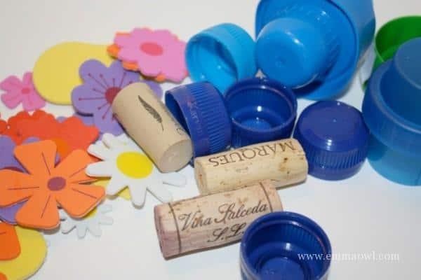diy flower stamps - how to make these easy craft accessory