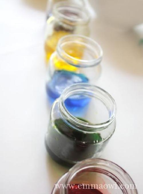 Childrens Art Painting - Salt-Painting