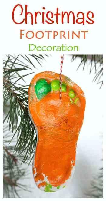 Beautiful Christmas Tree Decoration - made from salt dough