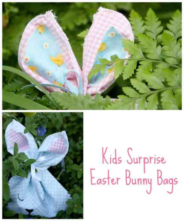 Kids surprise Easter Bunny Bags