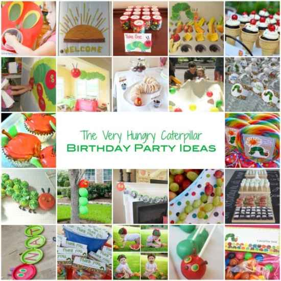 The Very Hungry Caterpillar - Birthday Party Ideas
