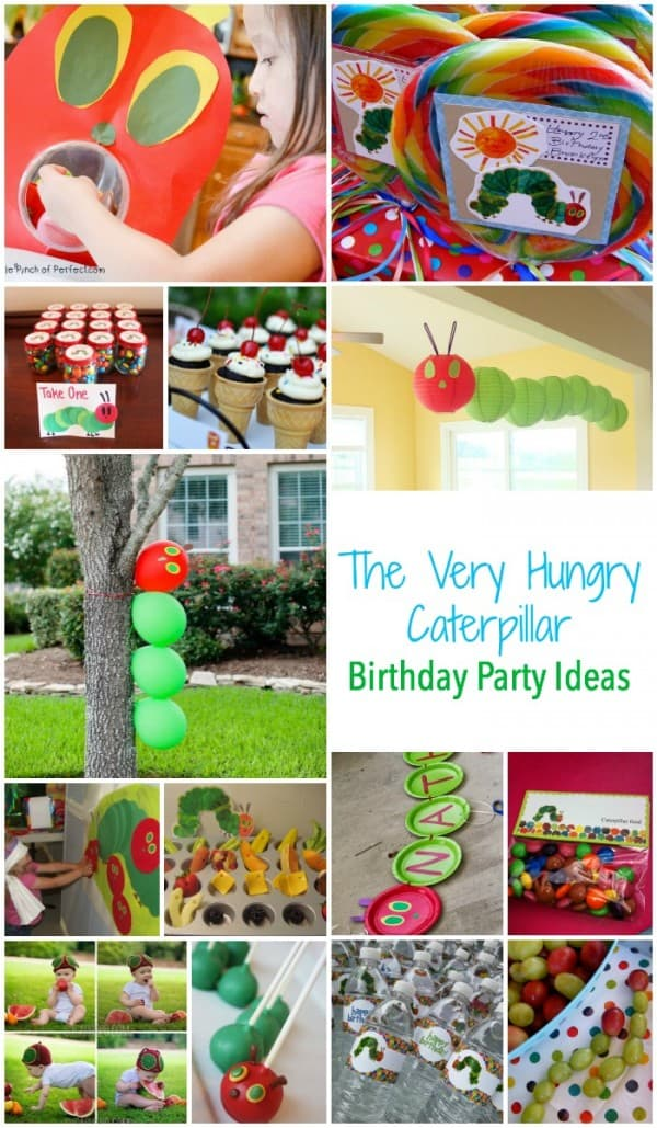 The Very Hungry Caterpillar Birthday Party Ideas - Food - Decorations - Games and more.  sc 1 st  Emma Owl & Have a Hungry Caterpillar Party! - Emma Owl