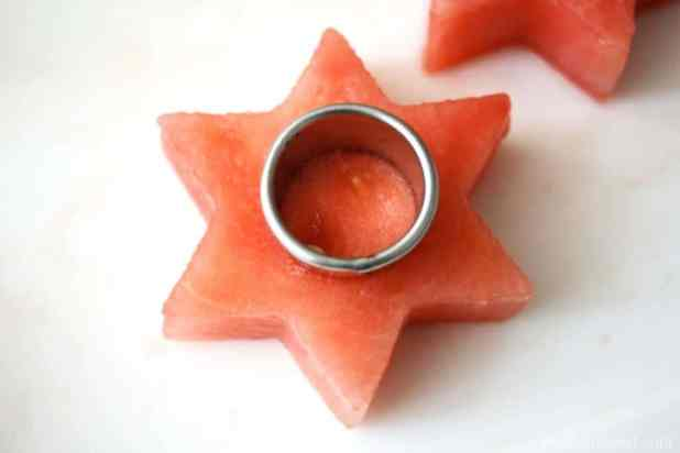 Make your own Watermelon Stars