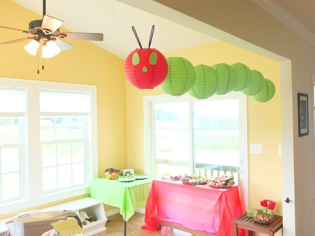 The Very Hungry Caterpillar Decoration Ideas & Have a Hungry Caterpillar Party! - Emma Owl