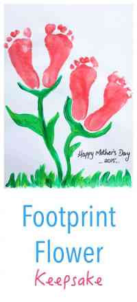 This is an easy - beautiful - kids craft idea for Mothers Day or Valentines Day